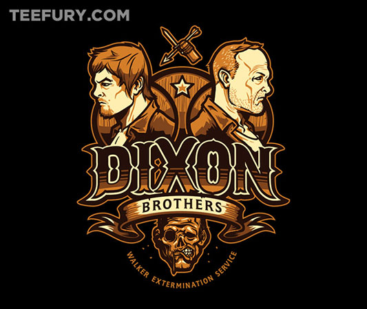 The Walking Dead Dixon Bros Walker Control Shirt