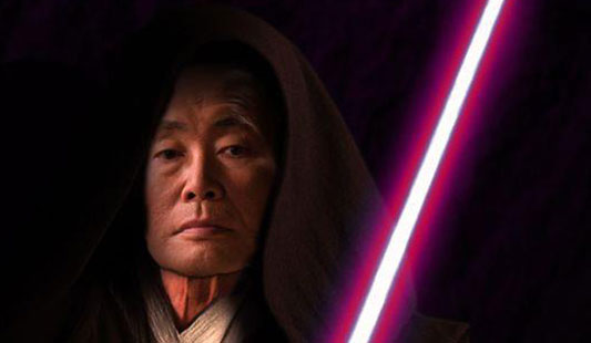 Star Trek George Takei In Star Wars Galactic Empire