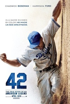 42 Film Poster Jackie Robinson