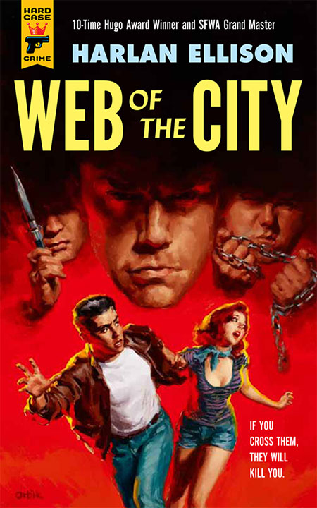 Harlan Ellison's Web of the City cover