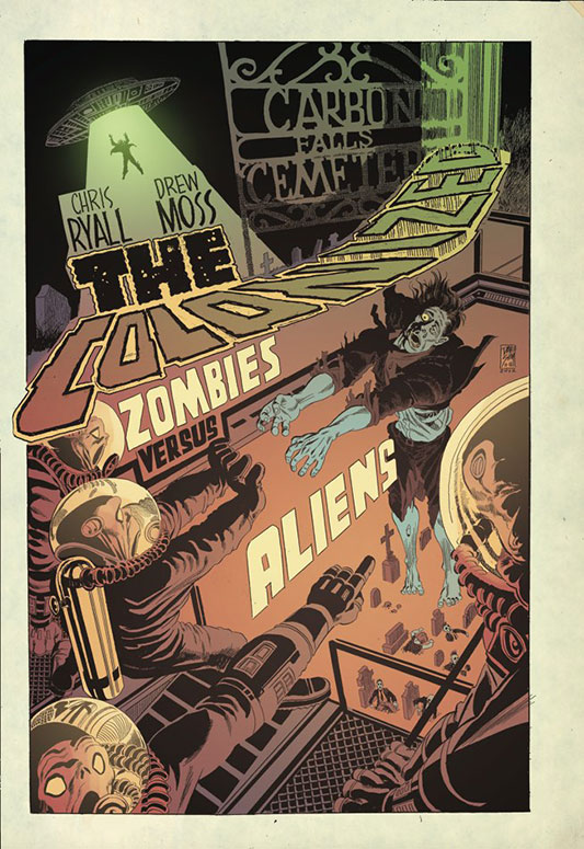 The Colonized - IDW - Dave Sim cover