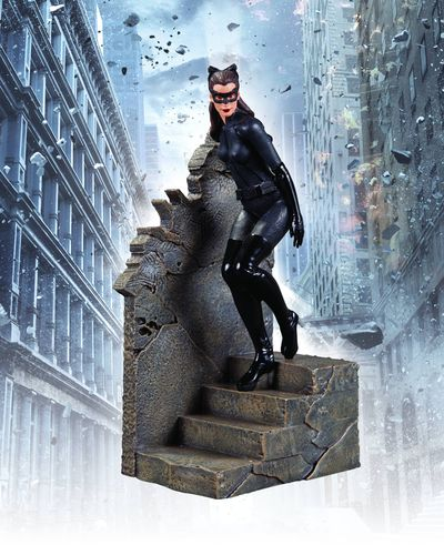 The Dark Knight Rises Catwoman 1/12 Scale Statue