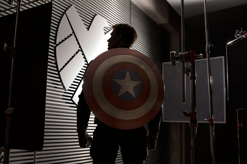 Captain America: The Winter Soldier Chris Evans first look