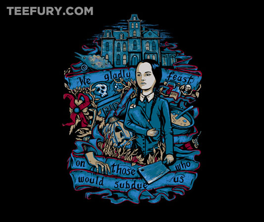 The Addams Family Wednesday Feast Shirt