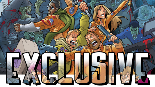 Fanboys vs Zombies #16 exclusive banner