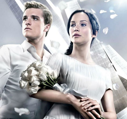 Hunger Games: Catching Fire victory tour promo
