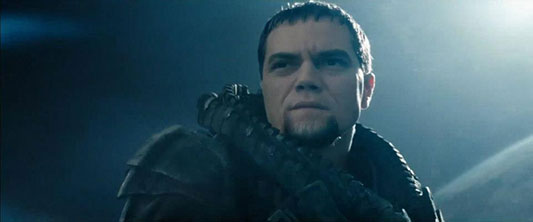 Man Of Steel Michael Shannon Zod returns in Batman v Superman