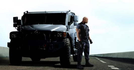 Dwayne Johnson In Fast and Furious 6
