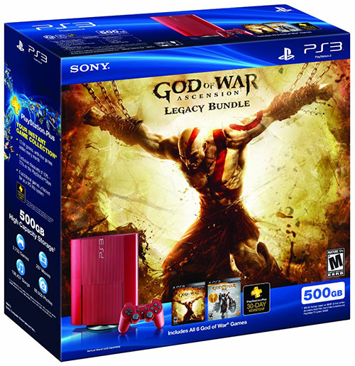 Sony God of War Ascension Legacy Bundle