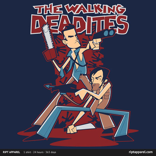 Geek Gear: Evil Dead Meets Walking Dead In The Walking Deadites
