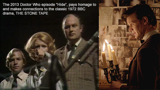 Doctor Who pays homage to THE STONE TAPE
