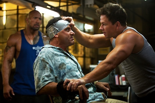 Pain and Gain: The Rock and Wahlberg