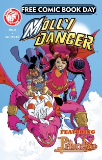 Action Lab: Molly Danger cover by Jamal Igle