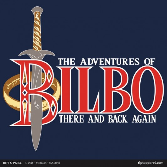 The Hobbit There and Back Again Shirt