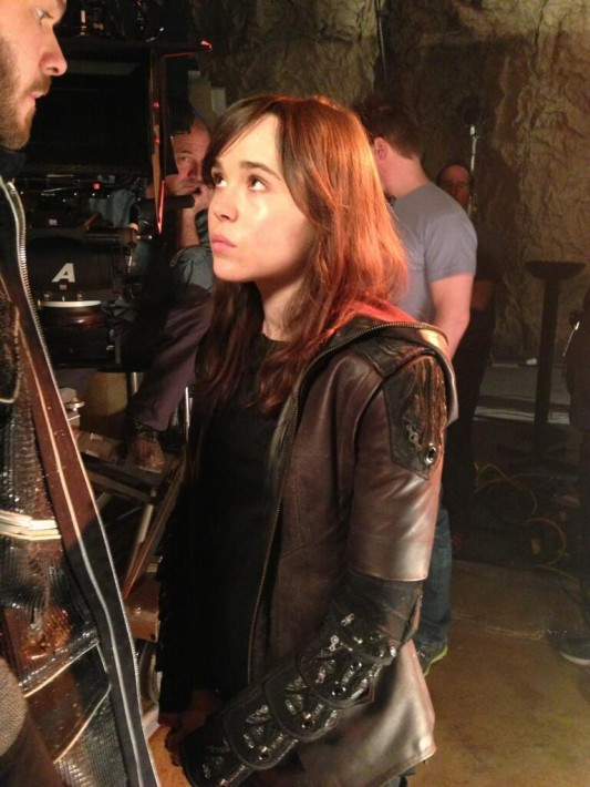 Ellen Page as Kitty Pryde - Large