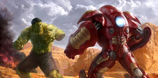 Hulk Vs. Iron Man - Hulkbuster