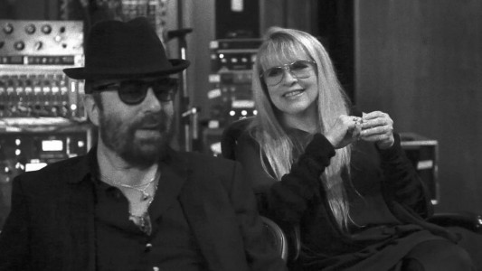Stevie Nicks and Dave Stewart