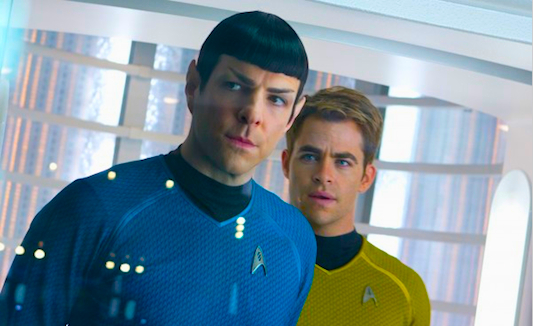 Star Trek Into Darkness: Spock and Kirk