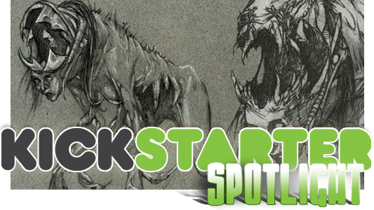 Kickstarter Spotlight: Harbinger Down
