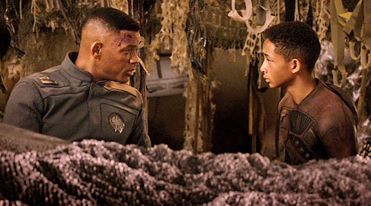 After Earth: Will and Jaden Smith