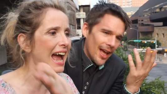 Ethan Hawke and Julie Deply Have A Message For You