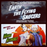 Earth vs. The Flying Saucers - Mars Attacks