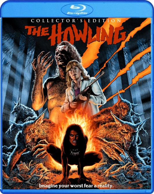 The Howling Blu-ray cover art