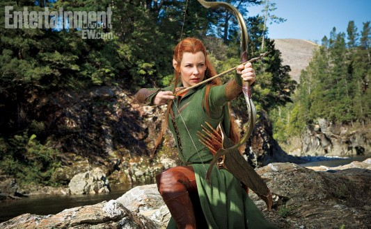 Evangeline Lilly as Tauriel In The Hobbit The Desolation Of Smaug Full