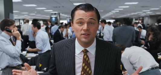 The Wolf Of Wall Street Header