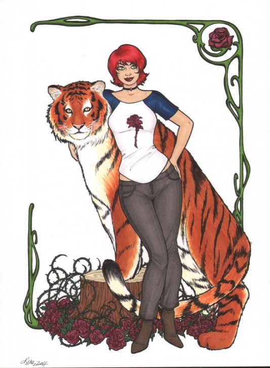 Rose Red from Fables