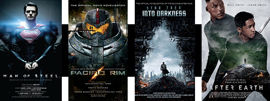 Movie Novelization banner