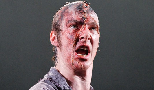 Benedict Cumberbatch as Frankenstein