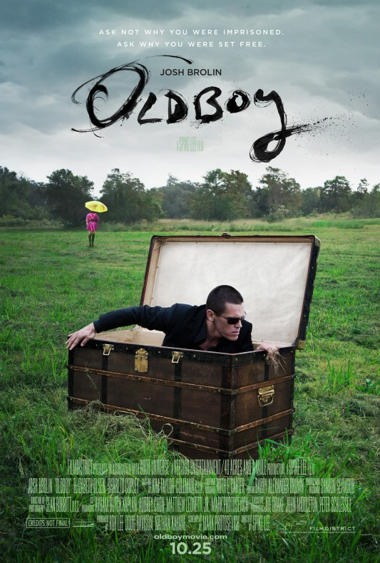 Spike Lee's Oldboy Remake Poster