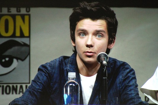 SDCC 2013: Enders Game panel: Asa Butterfield - Image credit: Geeks Of Doom