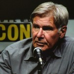 SDCC 2013: Enders Game panel: Harrison Ford 02