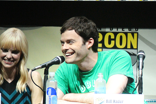 SDCC 2013: Cloudy With a Chance of Meatballs 2 panel: Bill Hader