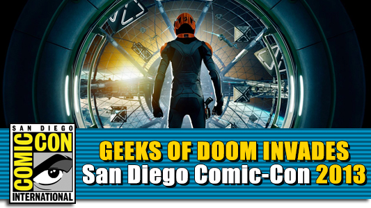 sdcc 2013 ender s game panel with harrison ford. Black Bedroom Furniture Sets. Home Design Ideas
