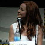 SDCC 2013: Kick-Ass 2 banner: Lindy Booth