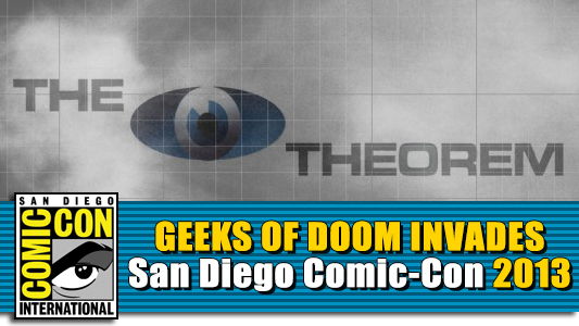 SDCC 2013: The Zero Theorem panel banner