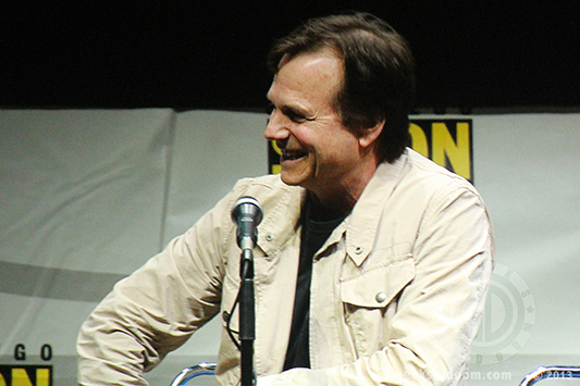 SDCC 2013: Edge of Tomorrow panel: Bill Paxton
