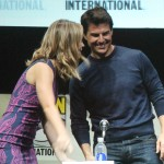 SDCC 2013: Edge of Tomorrow panel: Emily Blunt and Tom Cruise 02