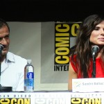 SDCC 2013: Gravity panel: producer David Heyman and Sandra Bullock 02
