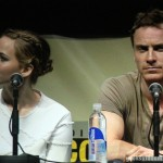 SDCC 2013: X-Men: Days Of Future Past panel: Jennifer Lawrence and Michael Fassbender