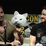 SDCC 2013: X-Men: Days Of Future Past panel: Michael Fassbender and James McAvoy 02