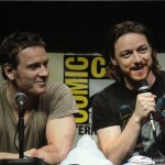 SDCC 2013: X-Men: Days Of Future Past panel: Michael Fassbender and James McAvoy 03