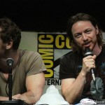 SDCC 2013: X-Men: Days Of Future Past panel: Michael Fassbender and James McAvoy 04