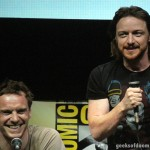 SDCC 2013: X-Men: Days Of Future Past panel: Michael Fassbender and James McAvoy 05