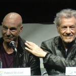 SDCC 2013: X-Men: Days Of Future Past panel: Sir Patrick Stewart and Sir Ian McKellan 07