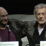 SDCC 2013: X-Men: Days Of Future Past panel: Sir Patrick Stewart and Sir Ian McKellan 08