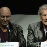 SDCC 2013: X-Men: Days Of Future Past panel: Sir Patrick Stewart and Sir Ian McKellan 09